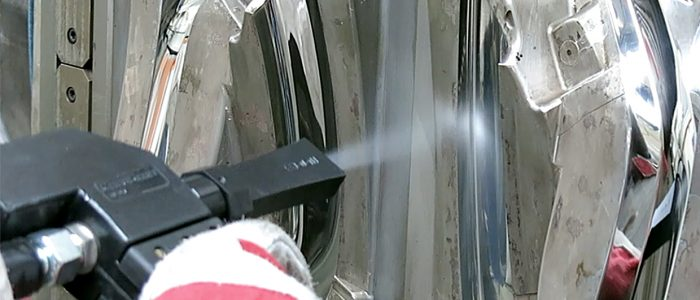 CryoSnow Spritzguss Detail