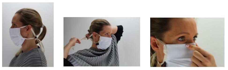 Maske - Not-Mund-Nasen-Schutz